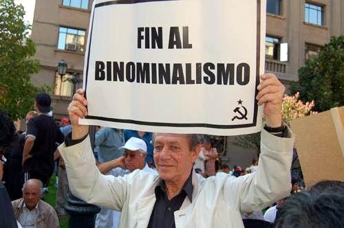 Bachelet por cambiar el sistema binominal