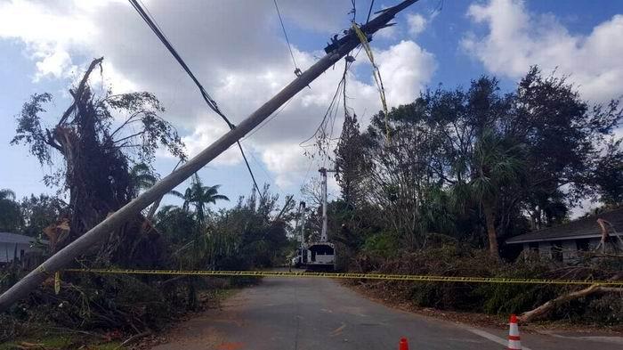 Florida Power Light and Homestead Utilities (FPL), la principal compañía en ese estado, no ha podido dar respuesta a todos los problemas eléctricos