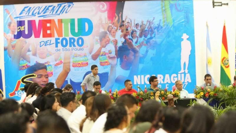 Oscar López asiste a reunión del Foro de Sao Paulo