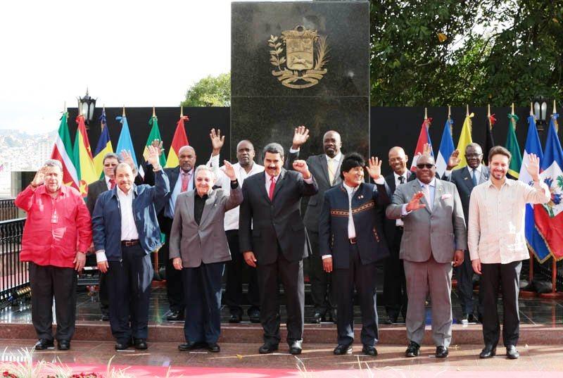 Foto Oficial de la XIV Cumbre del ALBA-TCP. Foto: Prensa Prensidencial
