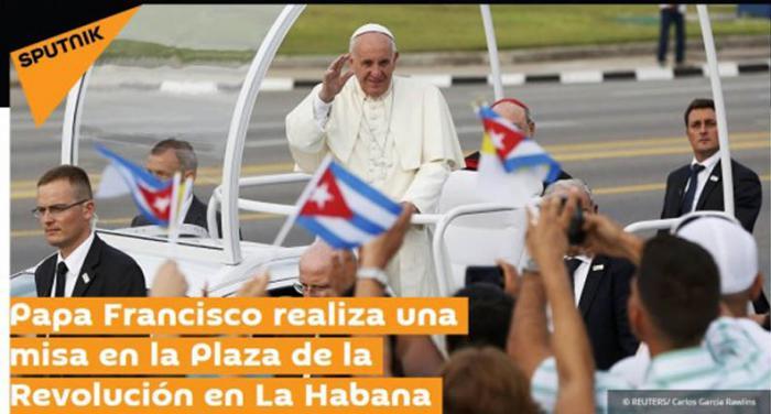 El mundo atento a la visita del Papa Francisco a Cuba