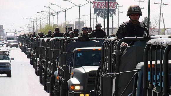 Refuerza M�xico seguridad fronteriza