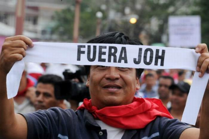 Alianza Opositora hondureña convoca a una jornada nacional de protestas