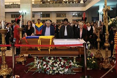 Presidentes de América Latina, Asia, África y Europa se encuentran en Venezuela para dar el último adiós al presidente Hugo Chávez (Foto: TeleSur)
