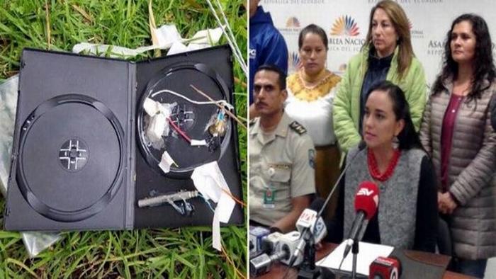 Intento de atentado contra presidenta de la Asamblea Nacional de Ecuador