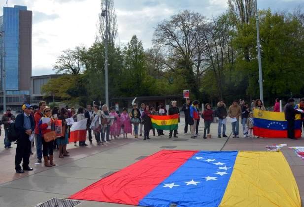 Expresan en Ginebra respaldo a Revoluci�n Bolivariana de Venezuela