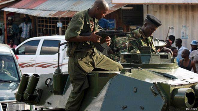Golpe de Estado en Burundi