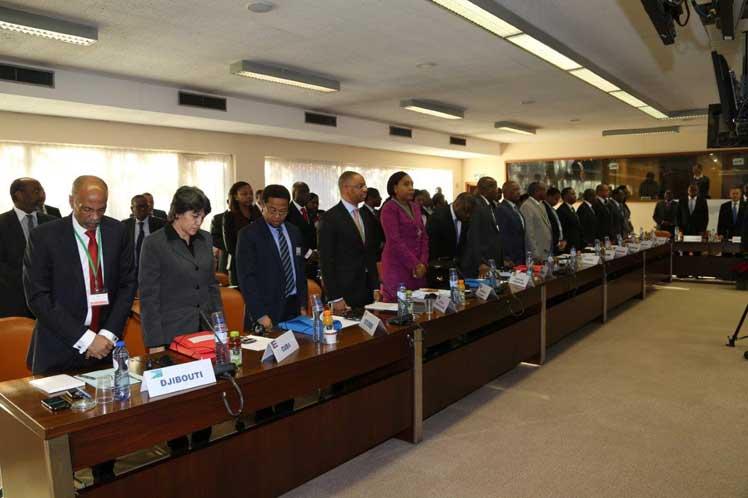 Rinde Grupo de África, Caribe y Pacífico homenaje a Fidel Castro. Foto: PL