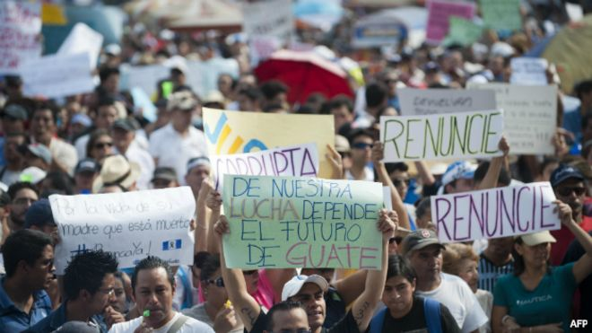 Guatemala convulsa
