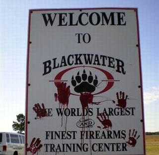 Blackwater Security Consulting Company
