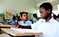 Clases en Haití