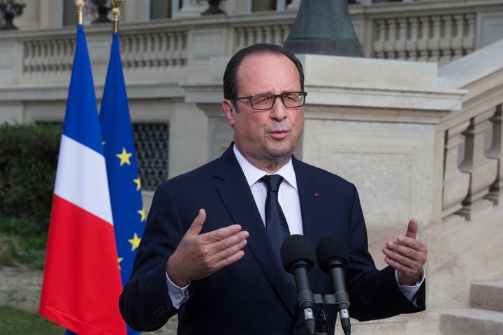 Sostiene Francia postura b�lica contra el estado isl�mico