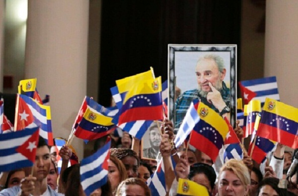 Venezuela rinde homenaje a Fidel