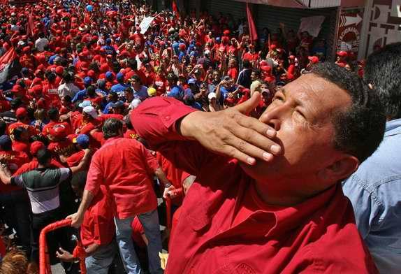 Tributo póstumo al Presidente de Venezuela Hugo Chávez. Foto RT