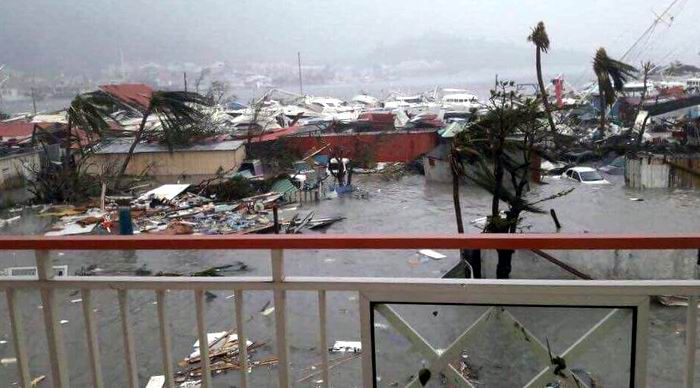 Devastador paso de huracán Irma por el Caribe