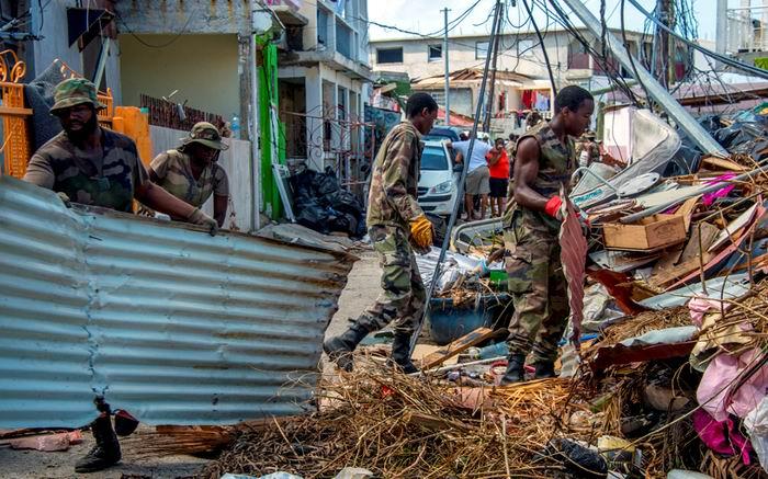 En Martinica el huracán María dejó 50.000 hogares sin electricidad y 10.000 sin agua