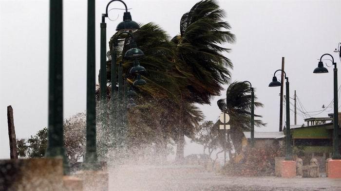 La fuerza de los vientos de María en Puerto Rico