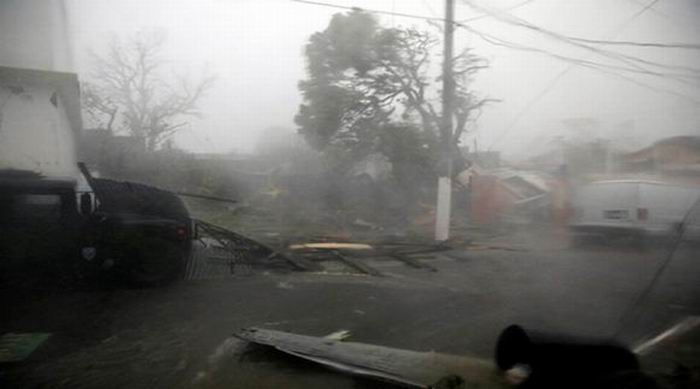 Impacto de María en Puerto Rico
