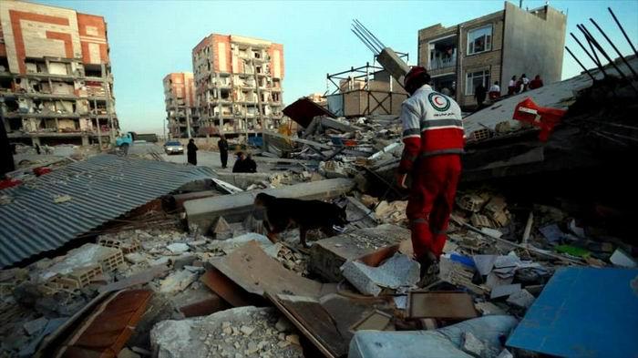 Irán moviliza fuerzas para ayudar a damnificados. Foto: HispanTV