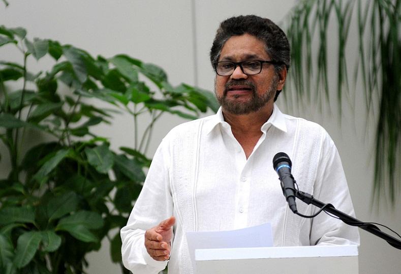 Declaración de jefe del equipo negociador de las FARC-EP
