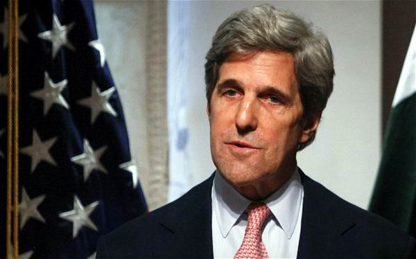 Secretario de Estado norteamericano, John Kerry