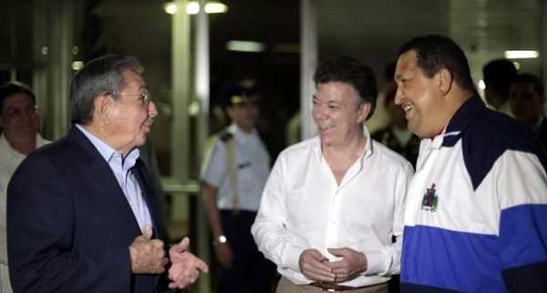 Hugo Ch�vez y su rol en el proceso de paz de Colombia