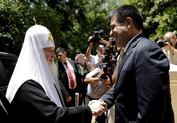 Concluye Patriarca Kirill visita a Paraguay