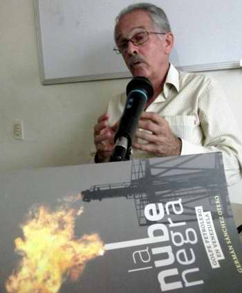 El ex embajador de Cuba en Venezuela presenta su libro La nube negra