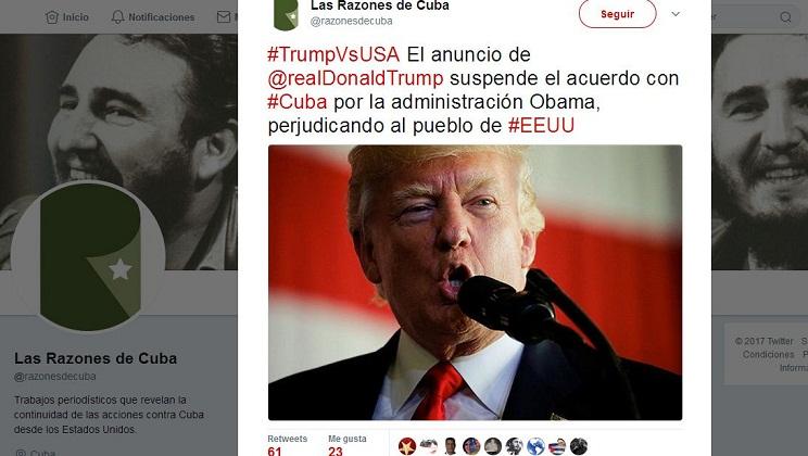 Cuba tacha de retroceso la nueva política de Donald Trump