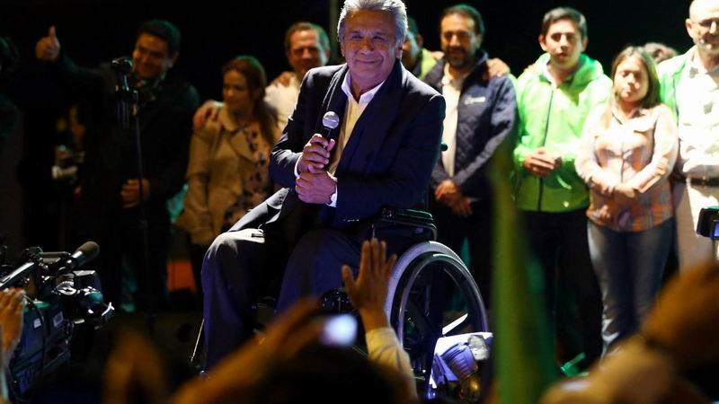 Lenin Moreno as The New President of Ecuador