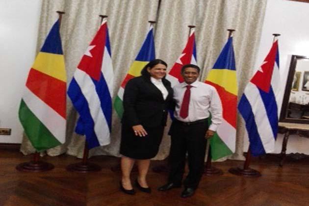 Cuban Vice President visit Seychelles
