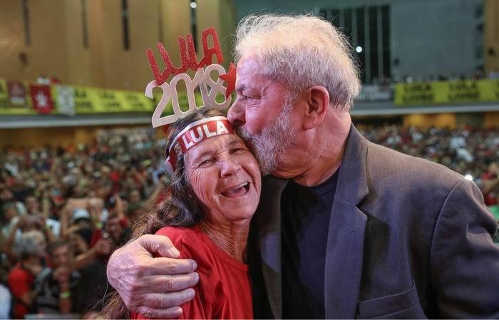 Presentó Lula precandidatura del PT para las próximas elecciones