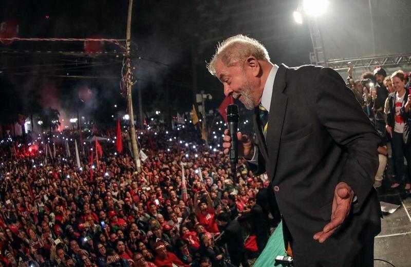 Esperan liberación inmediata de Luis Inácio Lula da Silva