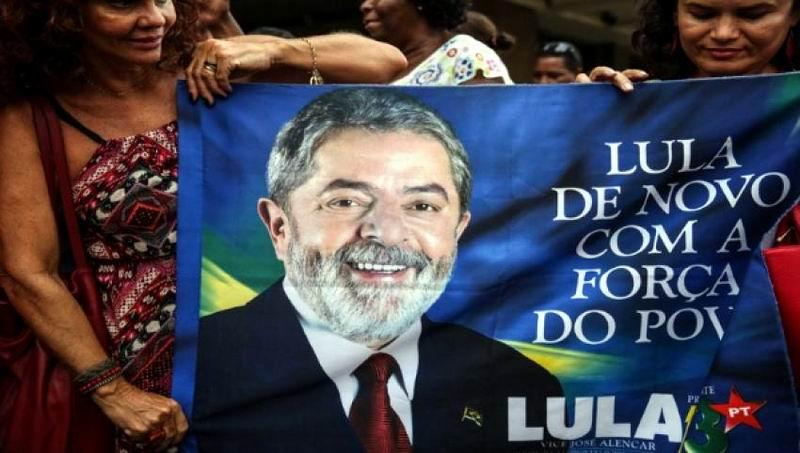 Lula encabeza la intención de votos para el 2018