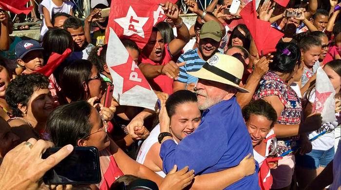 Lula recorre Minas Gerais