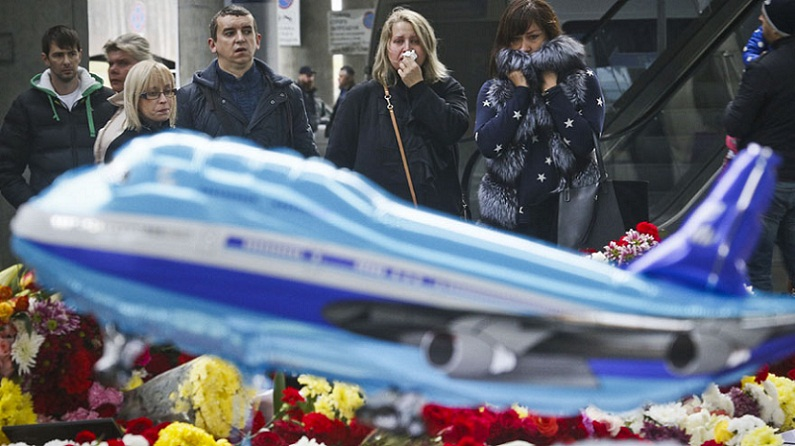 National Mourning in Russia for recent Plane Crash
