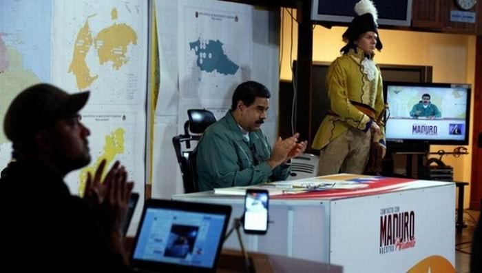Reitera Maduro disposici�n del Gobierno al di�logo pol�tico por la paz en el pa�s