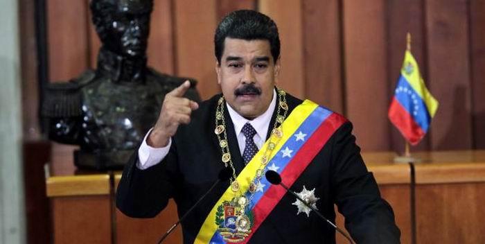 Nicolás Maduro en su discurso de Memoria y Cuentas. Foto: AVN