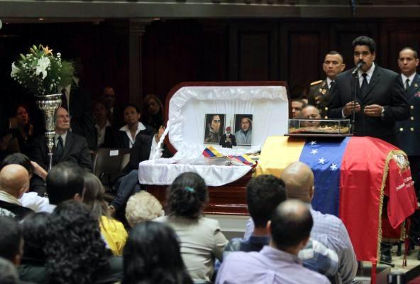 Nicolás Maduro, presidente de la República, asistió al recordatorio en la Asamblea Nacional (AN).