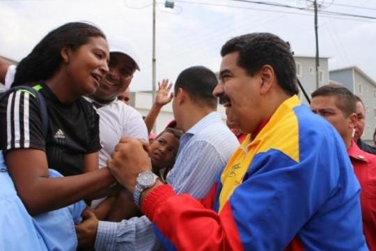 Maduro califica de exitosa jornada de postulaci�n de candidatos a las parlamentarias (+Audio)