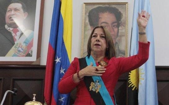 La nueva gobernadora del estado Zulia, Magdely Valbuena. Foto: RnvActivafm