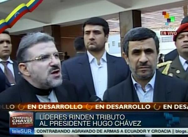 Presidente de Irán: Chávez levantó la voz de los desprotegidos. Foto Telesur
