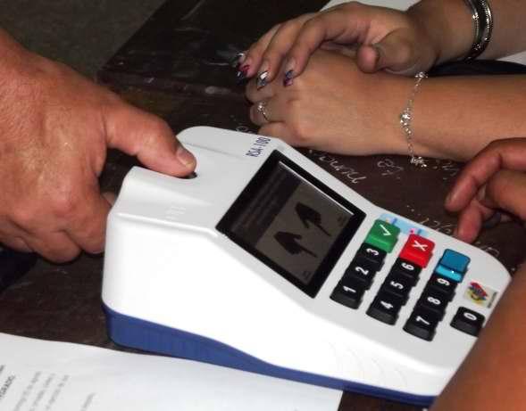 Máquinas de votación en Venezuela