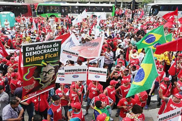 Marchas en Brasil en defensa de la democracia y las conquistas sociales