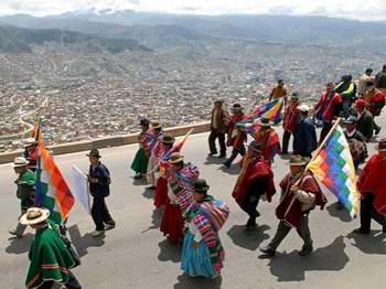 Actividades en Venezuela por D�a de la Resistencia Ind�gena