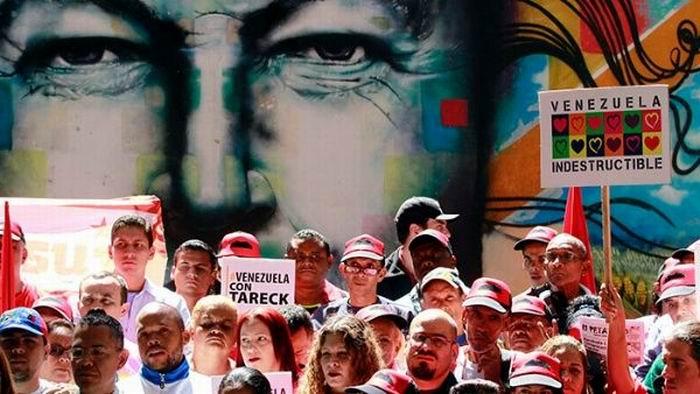 Convocan a gran movilización mundial en apoyo a Venezuela