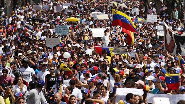 Convocan en Venezuela a gran marcha por la paz y contra el terrorismo