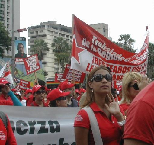 Primero de Mayo en Venezuela