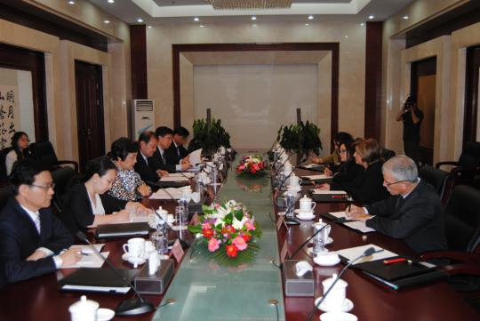 Realiza ministra cubana de Justicia visita oficial a China