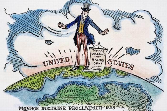 Doctrina concebida en 1823 y sintetizada en la frase América para los americanos